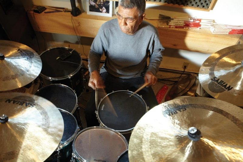 Jack DeJohnette at home in the Catskills