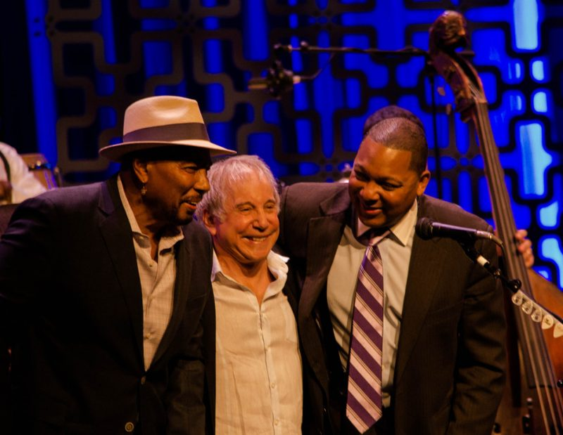 Aaron Neville, Paul Simon & Wynton Marsalis, Jazz at Lincoln Center, NYC 4-19-12