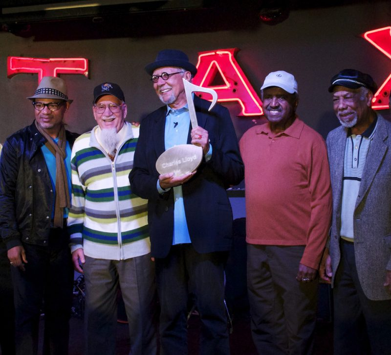 "Charles Lloyd receives his ""note"" on Beale Street"