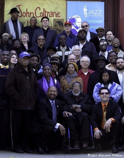 Gathering at the John Coltrane House in Philadelphia