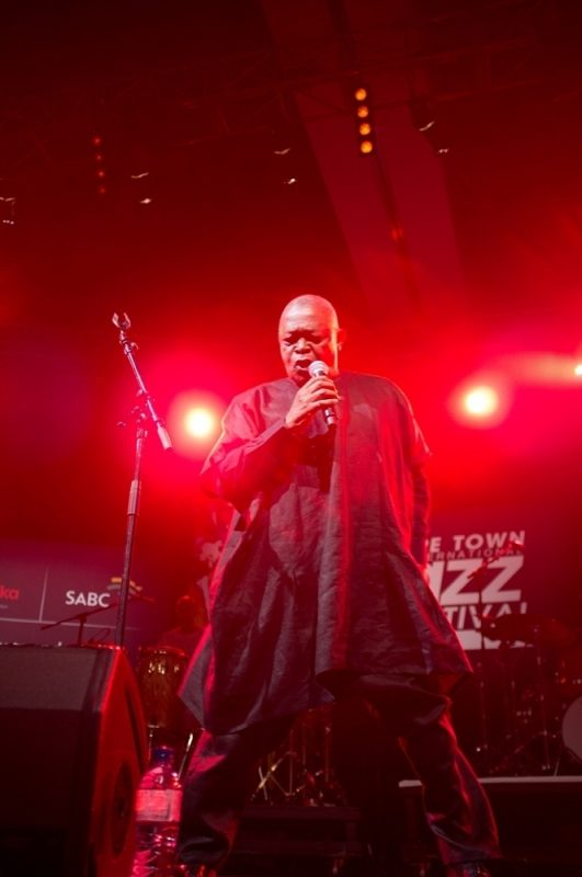 Hugh Masekela at the 2012 Cape Town International Jazz Festival