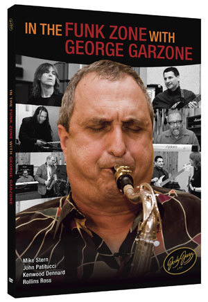 "JodyJazz's ""In the Funk Zone With George Garzone"" DVD set"