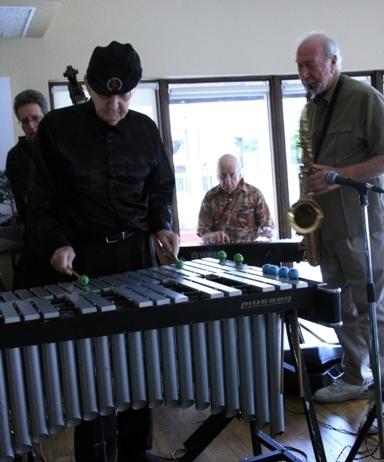 Jack Fanning (vibes), Mark Neuenschwander (bass), Dick Hyman, Jim Wellen