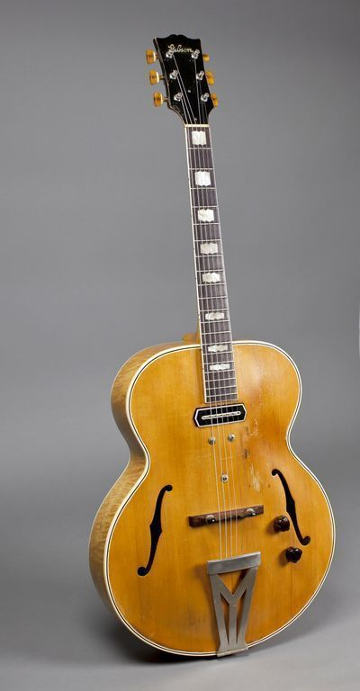 Charlie Christian's guitar (Photo courtesy of the Musical Instrument Museum)
