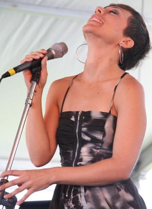 Gretchen Parlato (photo: Ken Franckling)