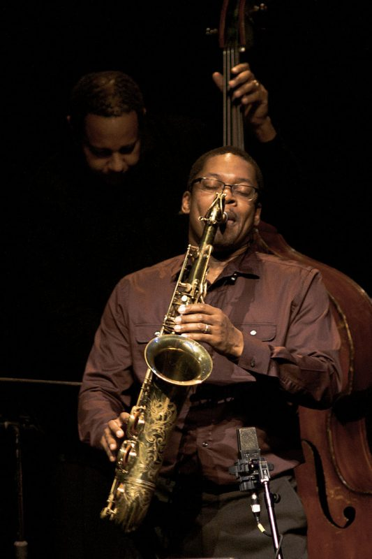 Ravi Coltrane in performance at Zellerbach Theatre in Philadelphia