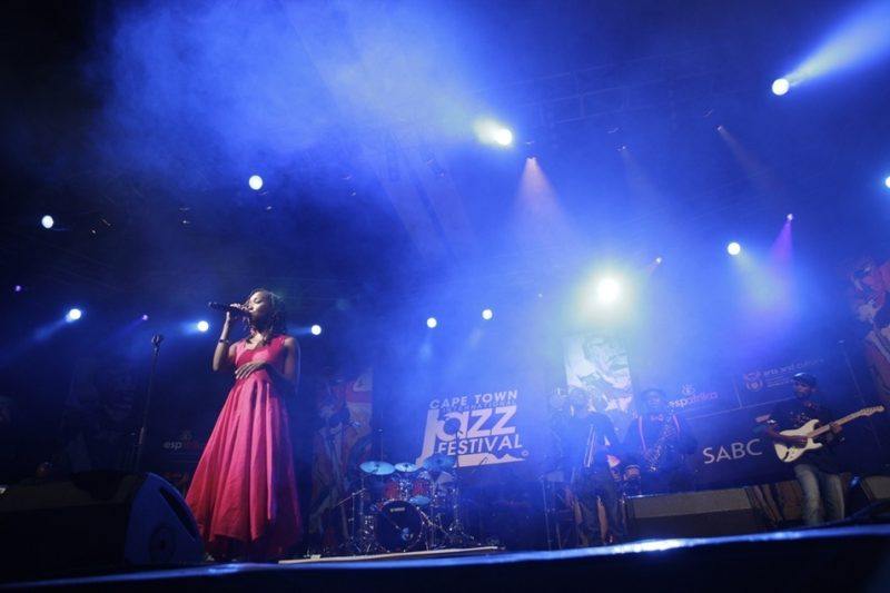 Zamajobe at the 2012 Cape Town International Jazz Festival