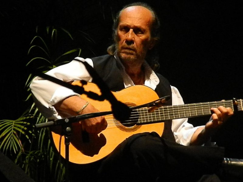 Paco De Lucia in performance at 2012 Puerto Rico Heineken Jazz Festival