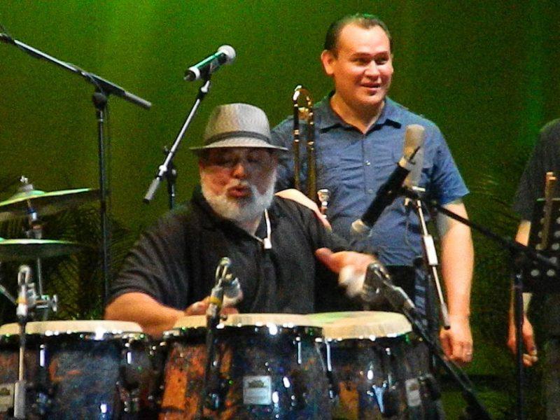 Poncho Sanchez in performance at 2012 Puerto Rico Heineken Jazz Festival