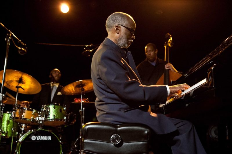 Ahmad Jamal performing at 2012 SFJAZZ Spring Gala