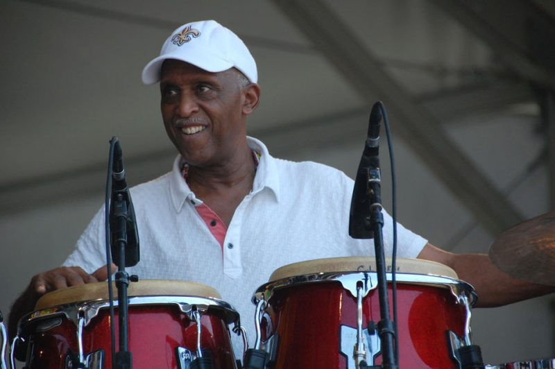 Bill Summers at New Orleans Jazz & Heritage Festival 2012