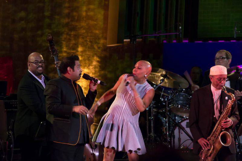 Christian McBride, Shankar Mahadevan, Dee Dee Bridgewater, Jimmy Heath, International Jazz Day, NYC, 4-12