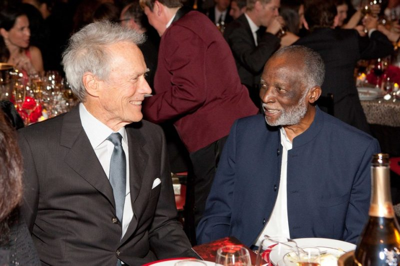 Clint Eastwood and Ahmad Jamal, SFJAZZ Gala 2012