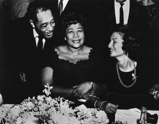 Duke Ellington, Ella Fitzgerald and Phoebe Jacobs image 0