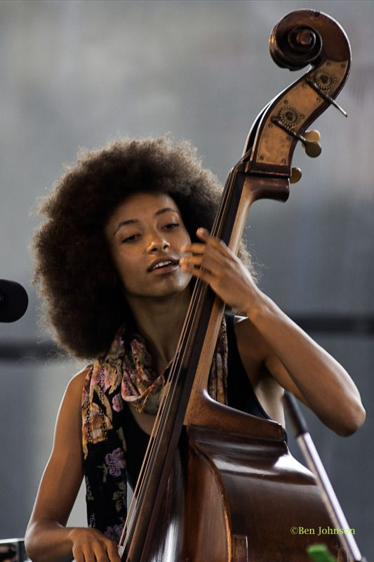 Esperanza Spalding - Photo by Ben Johnson
