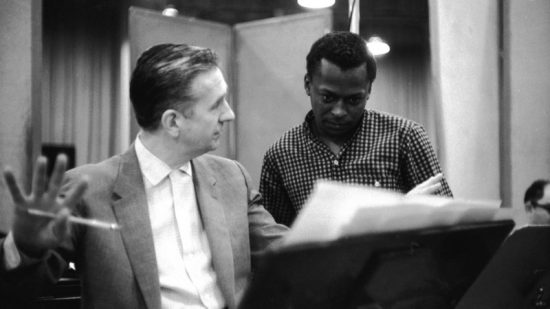 Gil Evans and Miles Davis image 0
