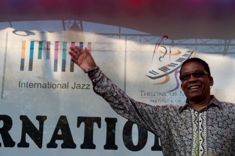 Herbie Hancock in New Orleans for International Jazz Day