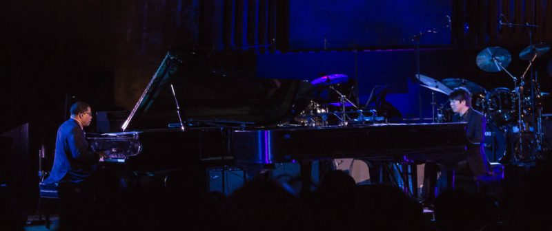 """Herbie Hancock and Lang Lang duet on West Side Story's """"Tonight"""" at International Jazz Day, NYC, 4-12"""