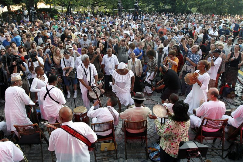 New Orleans' Congo Square Preservation Society celebrates International Jazz Day