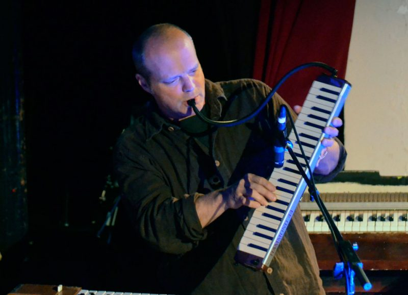 John Medeski performs at the Brooklyn Masonic Temple as part of the 2012 Undead Music Festival