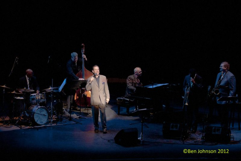Kurt Elling performed at Tribute to Frank Sinatra in a typical Kurt Elling style of swinging elegance at the Zellerbach Theater in Philadelphia. More images are in my photo gallery http://www.benjohnsonjazzphotos.com
