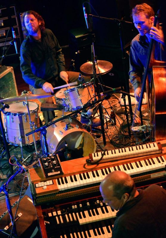 Medeski Martin & Wood perform at the Brooklyn Masonic Temple as part of the 2012 Undead Music Festival