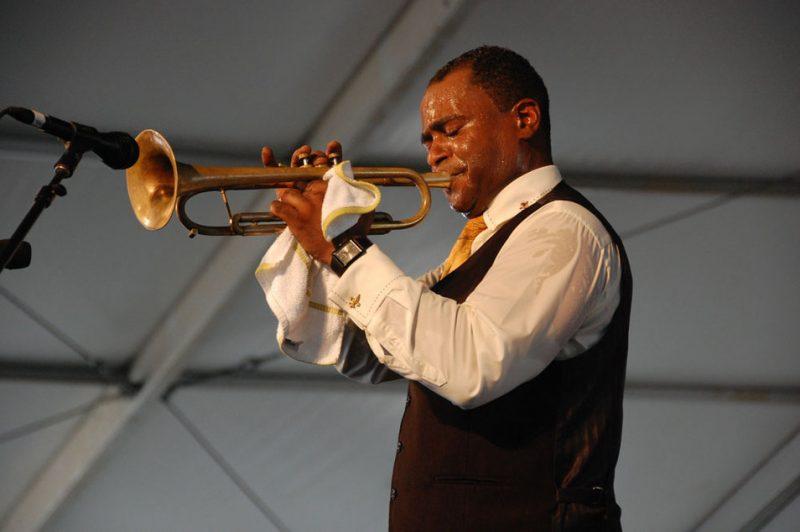 Marlon Jordan at New Orleans Jazz & Heritage Festival 2012