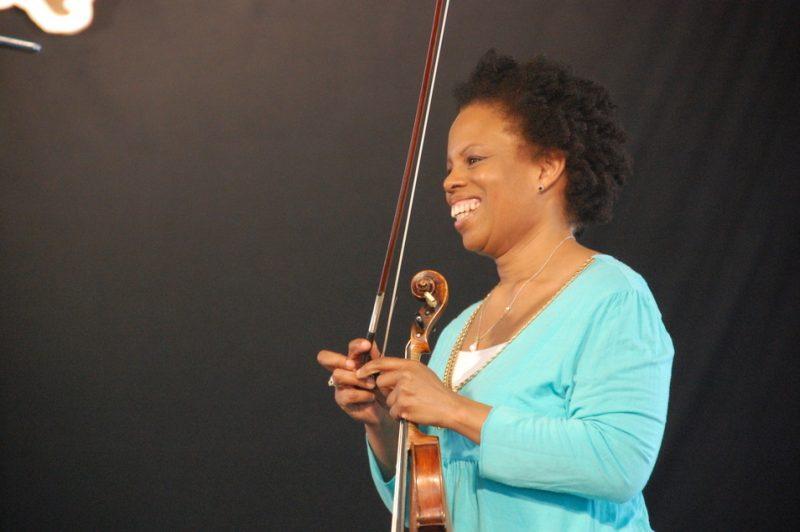Regina Carter at New Orleans Jazz & Heritage Festival 2012
