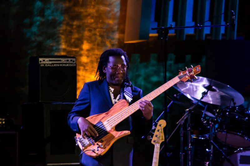 Richard Bona, International Jazz Day, NYC, 4-12