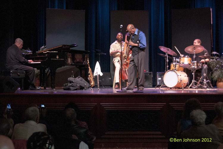 Saturday, May 19, 2012, Saxophonist-flutist-composer and Philadelphia native Sonny Fortune brought his quartet to Dante Hall Theater of the Arts on his 73rd birthday, and a rare Atlantic City appearance. This performance was presented by the Chicken Bone Beach Historical Foundation and Richard Stockton College of New Jersey. Joining Sonny were jazz greats Michael Cochrane […]