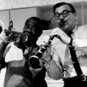 Louis Armstrong with Joe Muranyi image 0