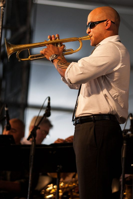 Irvin Mayfield at New Orleans Jazz Fest 2012