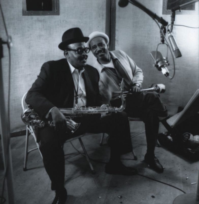 Ben Webster and Harry Edison, New York 1962