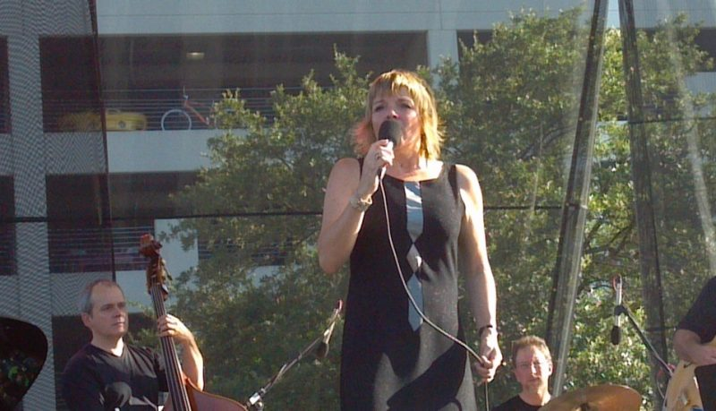 Karrin Allyson at the 2012 Jacksonville Jazz Festival