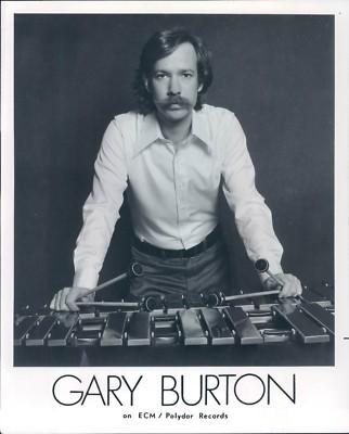 A 1970s publicity photo of Gary Burton