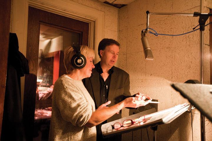 Harry Allen and Rebecca Kilgore record in New York, October 2008