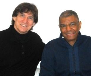 Jack DeJohnette with Russ Davis of MOJA Radio