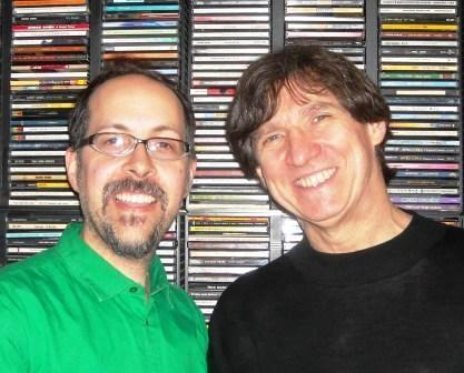 John Hollenbeck and Russ Davis of MOJA Radio
