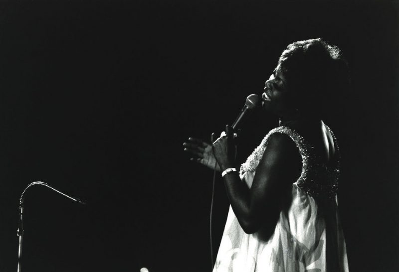 Sarah Vaughan at the 1971 Monterey Jazz Festival