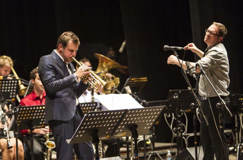 Fabrizio Bosso (trumpet), Ryan Truesdell (conducting), Umbria Jazz Festival, 2012