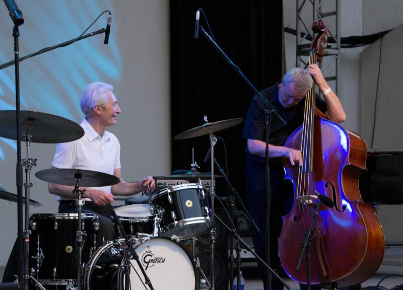 Charlie Watts and Dave Green, Lincoln Center 6-28-12