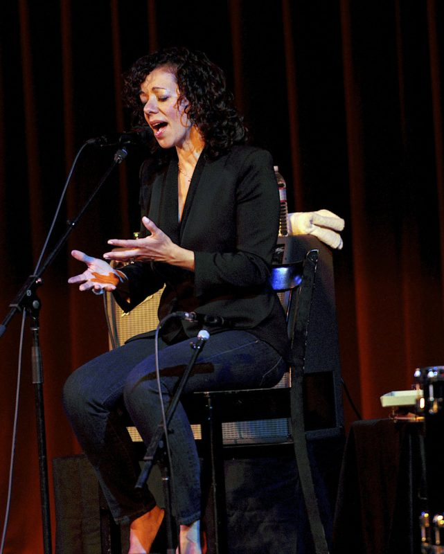 Luciana Souza in performance at Stanford Jazz Festival in June 2012