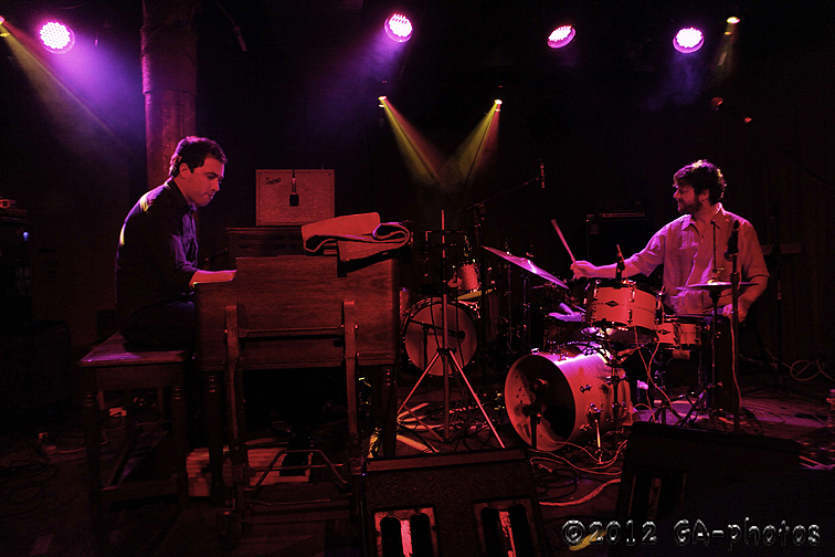 Wil Blades (l.) and Billy Martin, Sullivan Hall, NYC, 7-12