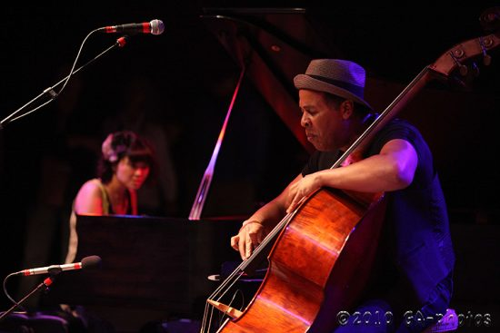 Stanley Clarke and Hiromi at the 2010 Telluride Jazz Celebration image 0