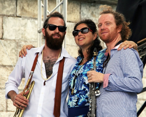 The 3 Cohens – trumpeter Avishai, clarinetist/tenor saxophonist Anat and soprano saxophonist Yuval -- were a main stage favorite at the 2012 Newport Jazz Festival