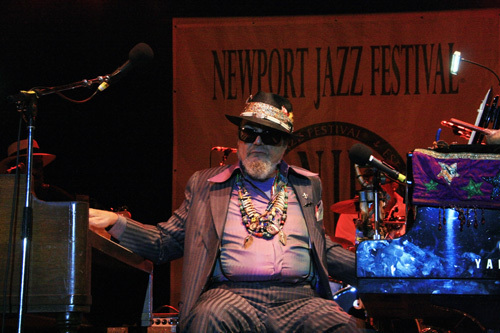 Dr. John headlined opening night at the 2012 Newport Jazz Festival