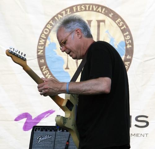 Guitarist Bill Frisell at the 2012 Newport Jazz Festival