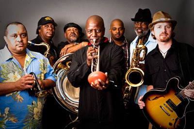 Gregory Davis with the Dirty Dozen Brass Band
