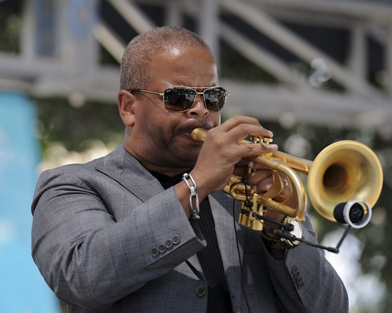 Terence Blanchard performing at the 2012 San Jose Summer Jazz Fest