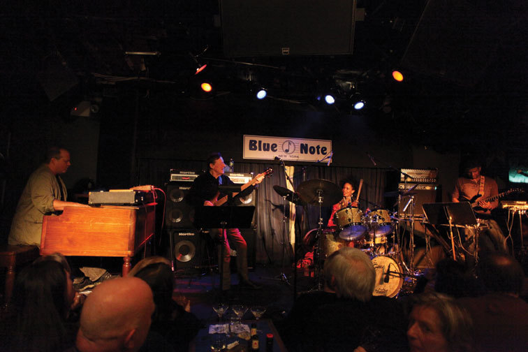 Spectrum Road when they were called the Tony WIlliams Lifetime Tribute Band, Blue Note, NYC, 2011